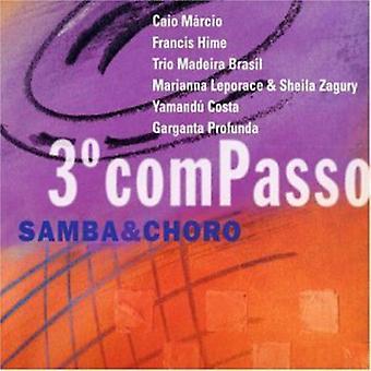 Terceiro Compasso-Sambas & Choros-importazione USA Terceiro Compasso-Sambas & Choros [CD]