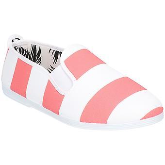 Flossy flickor spädbarn Urpia slip på casual sommar pump skor