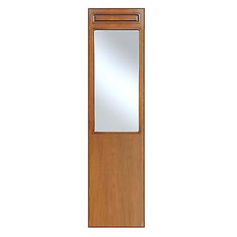 Entrance mirror with panel