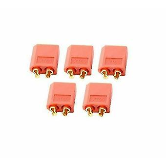 5 Pairs XT60 Male Female Bullet Connectors Plugs For RC Lipo Battery ( Color Red)