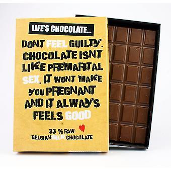 Funny boxed choklad citat gåva för män kvinnor bästa vän gratulationskort för honom eller henne LC107