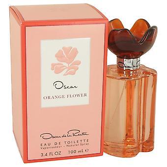 Oscar Orange Flower Eau De Toilette Spray By Oscar De La Renta 100 ml