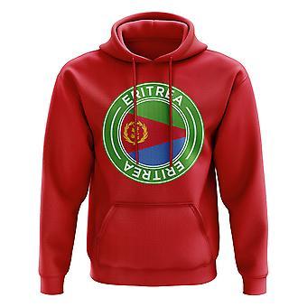 Eritrea Football Badge Hoodie (Red)
