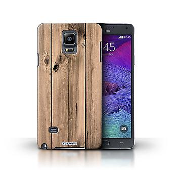 STUFF4 Phone Case / Cover for Samsung Galaxy Note 4 / Plank Design / Wood Grain Effect/Pattern Collection