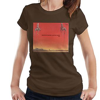 A.P.O.H Salvador Dali Fear Of Perfection Quote Women's T-Shirt