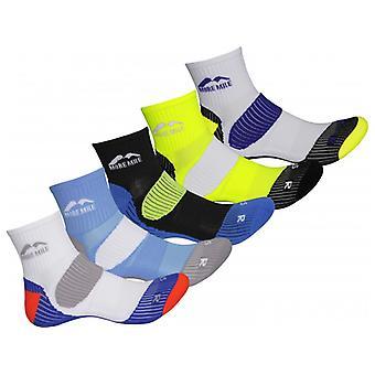 More Mile London 5 Pack  Running Sock