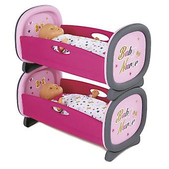 Smoby Twin Crib (Toys , Dolls And Accesories , Baby Dolls , Cradle)