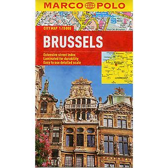 Brussels Marco Polo City Map by Marco Polo