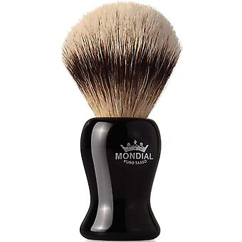 Mondial 1908 Silvertip Badger Shave Brush Gibson 22mm