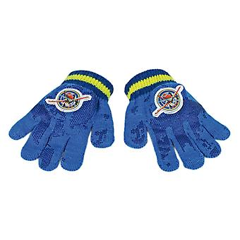 Disney Dusty From Planes Child/Boys Winter Magic Blue Gloves - One Size