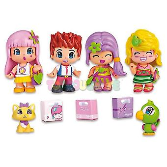 Pinypon Pin and Pon City Pack 4 Figures