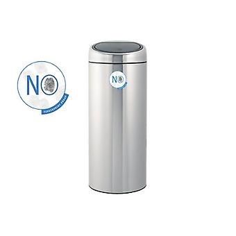 Brabantia Touch Bin 30 L Matt stål Fingerprint Proof