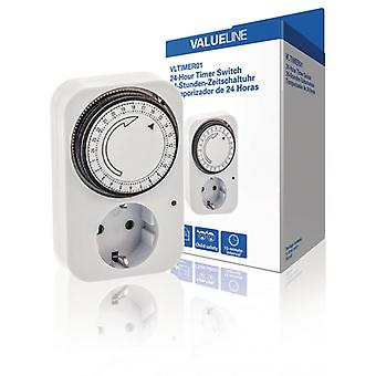 ValueLine Timer Analog Indoor 15 min. 3500 W