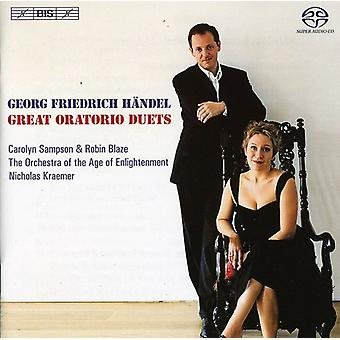 Sampson/Blaze/the Orch.of the Age O - Georg Friedrich H Ndel: Great Oratorio Duets [SACD] USA import