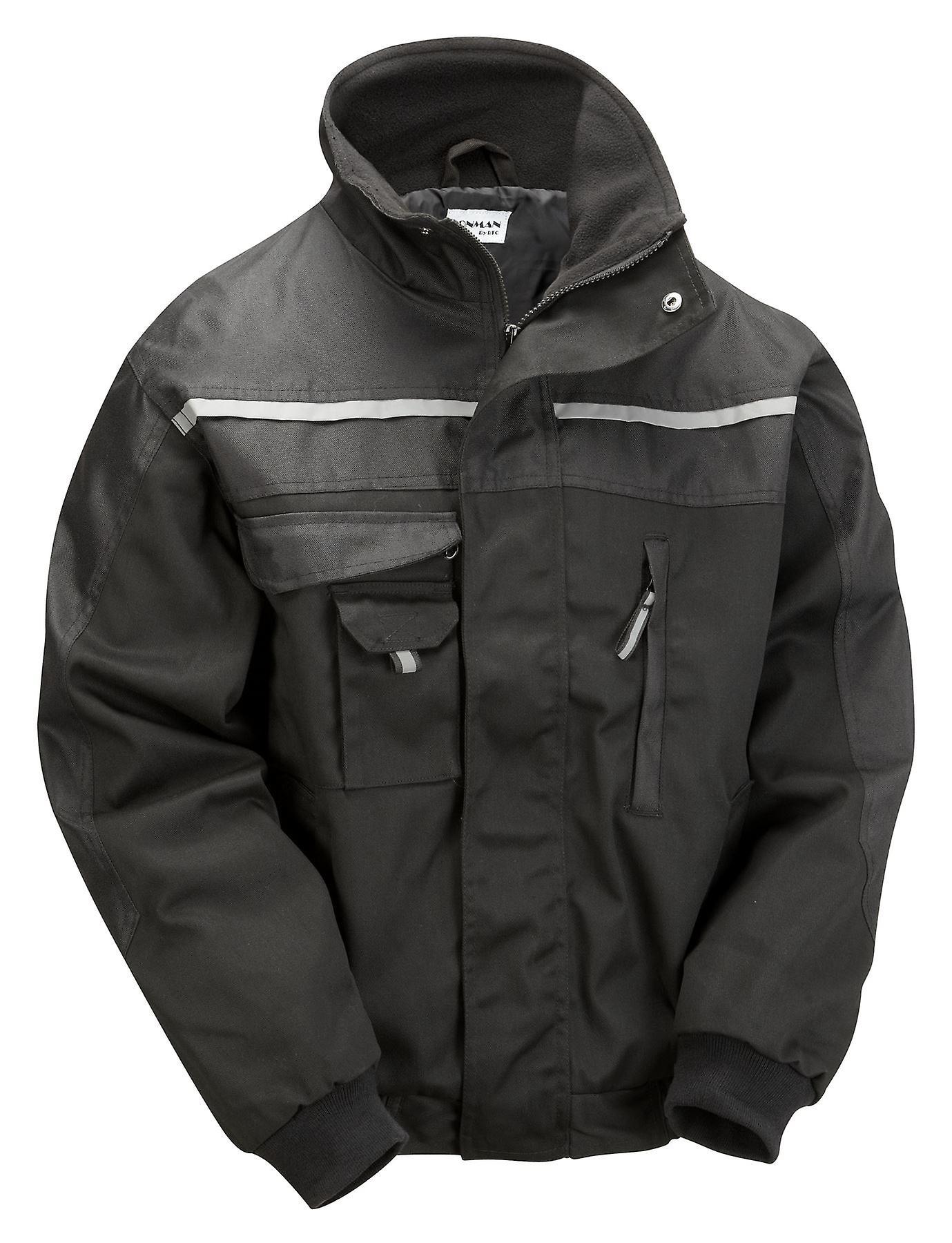 Ironman Work Jackets Reinforced Industrial Work Wear
