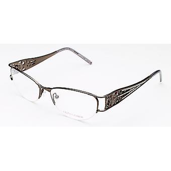 Judith Leiber Women's Micro Pav Eyeglasses Hematite