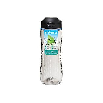 Sistema Tritan Active Bottle 800ml Black