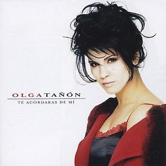 Olga Tañón - importación de Estados Unidos Te Acordaras De MI [CD]