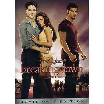 Twilight Saga: Breaking Dawn Pt. 1 [DVD] USA import