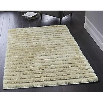 Carved Glamour Champagne  Rectangle Rugs Plain/Nearly Plain Rugs