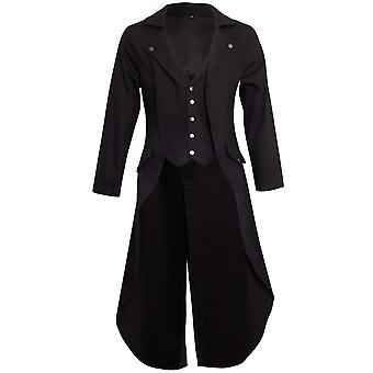 Banned Apparel Gothic Victorian Tailcoat Jacket