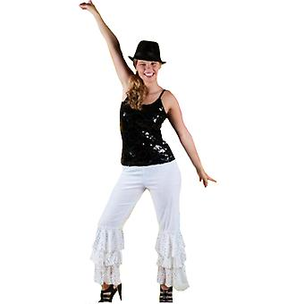 Men costumes Women Disco trousers unisex abba black