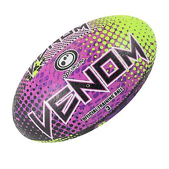 OPTIMUM venom mini rugby ball