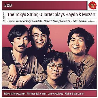 Tokyo String Quartet - Tokyo String Quartet spiller Haydn & Mozart [CD] USA import