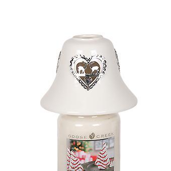 Arome renne bougie pot lampe