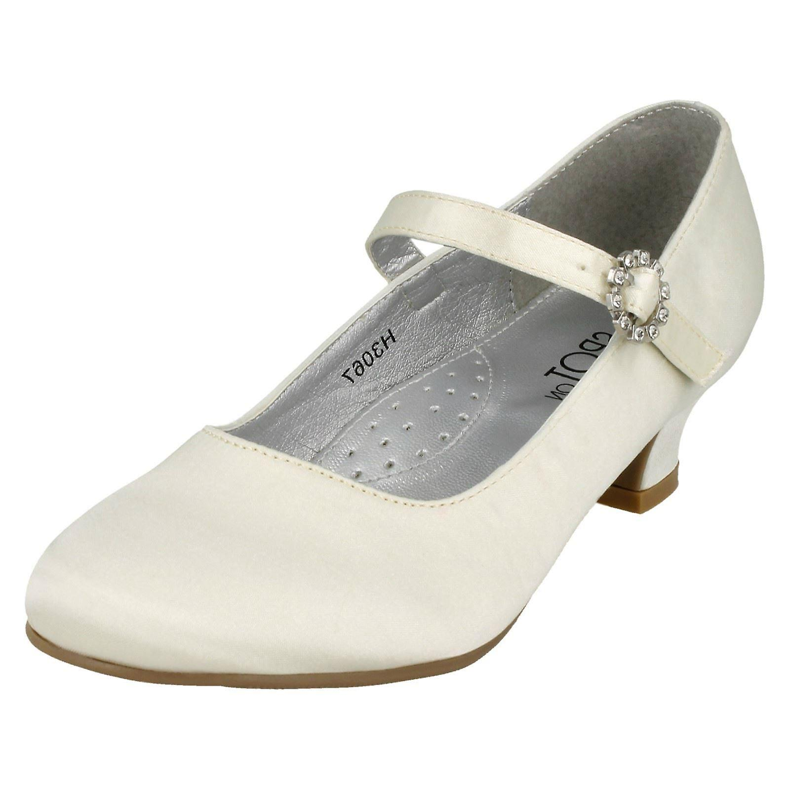 Girls Spot H3067- On Satin Party Shoes H3067- Spot Wear resistant -Gentleman/Lady 01ad4c