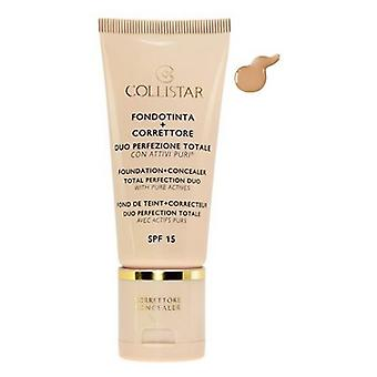 Collistar Foundation + Concealer Total Perfection Duo N3 Sand