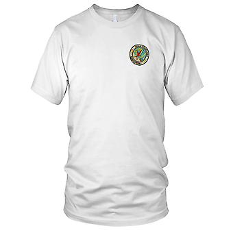 US Air Force 71st Air Commando Squadron - Military Vietnam War Embroidered Patch - Mens T Shirt