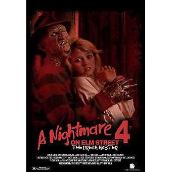 A Nightmare on Elm Street 4 Dream Master Movie Poster (11 x 17)