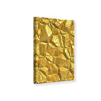 Leinwand drucken Gold