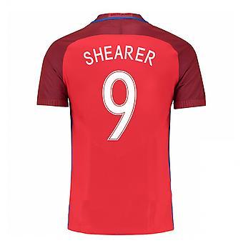 2016-17 England Away Shirt (Shearer 9) - Kids