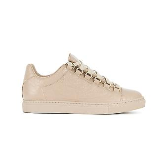 Balenciaga women's 477285WAD409809 beige leather of sneakers