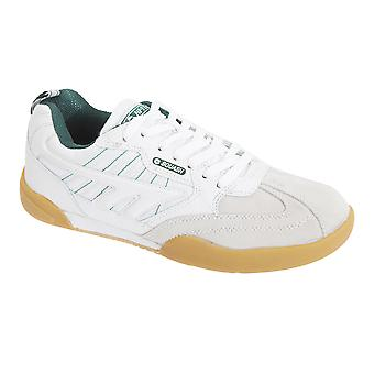 Hi-Tec Mens Non Marking Squash Classic Leather Trainers