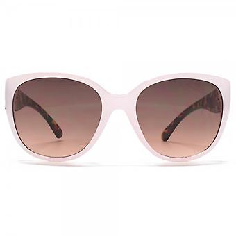 Miss KG Glamour Plastic Sunglasses In Pale Pink & Tortoiseshell