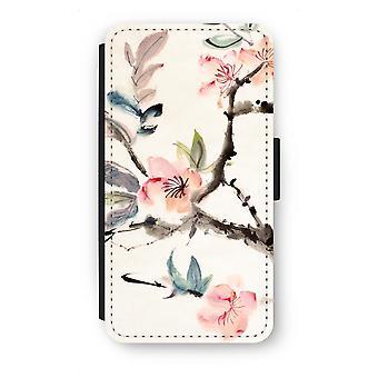 Samsung Galaxy S6 Flip Case - Japenese flowers