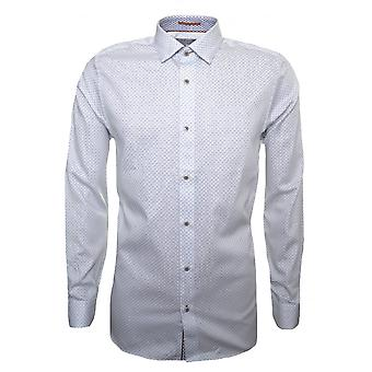 Ted Baker Ted Baker Men's White Werlbee Long Sleeved Shirt