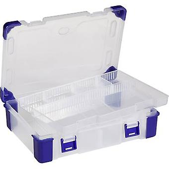 Assortment box (L x W x H) 230 x 160 x 60 mm VISO No. of compartments: 9 variable compartments