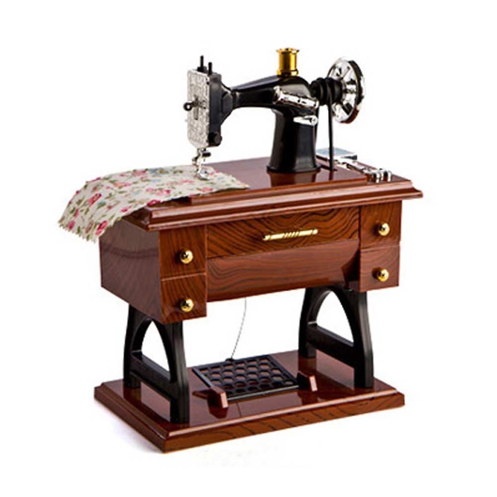 آلة الخياطة الرسوم المتحركة الموسيقية مربع