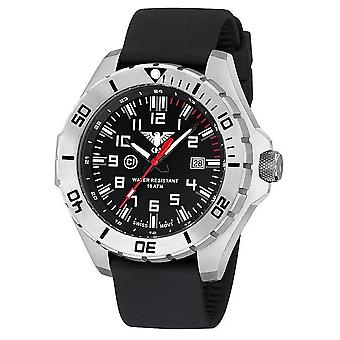 KHS watches mens watch steel KHS country leader. LANS. S