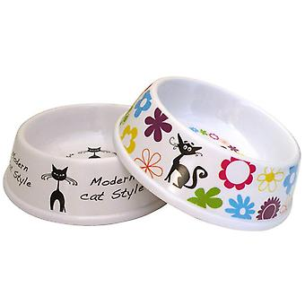 Agrobiothers Melamine Bowl For Cats 200Ml (Cats , Bowls, Dispensers & Containers , Bowls)
