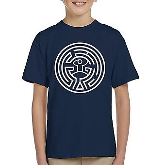 Westworld Labyrinth Kinder T-Shirt