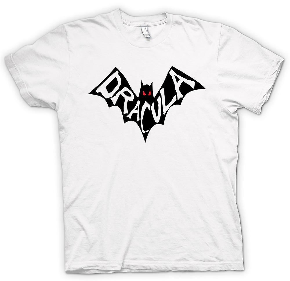 Womens T-shirt - Dracula Bat - Funny Horror