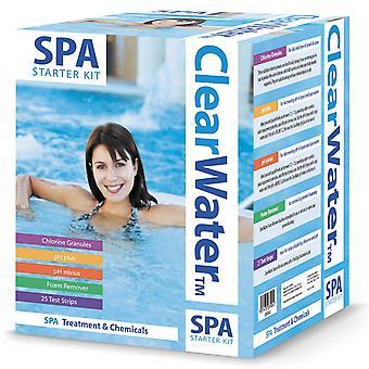 Clearwater grundlæggende Spa kemiske Starter sæt