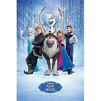Frozen (Cast FRENCH) maxi poster