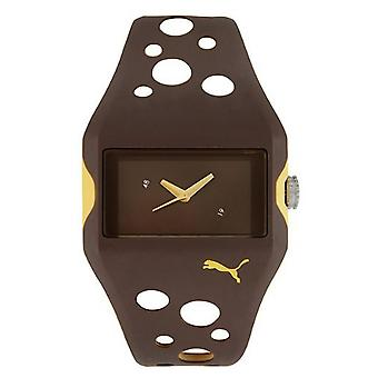 PUMA reloj activo flujo marrón PU900071001 pulsera reloj masculino