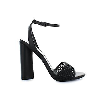 KENDALL AND KYLIE GENNA BLACK HEELED SANDAL